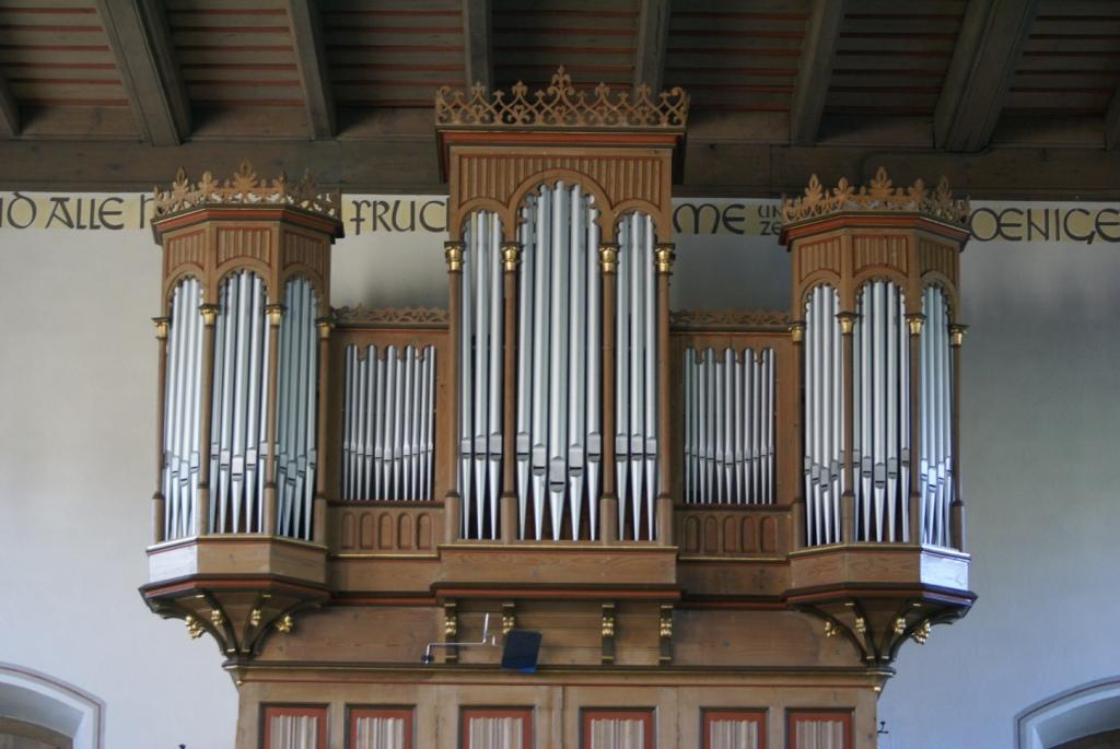 Die Orgel in Hettenhausen