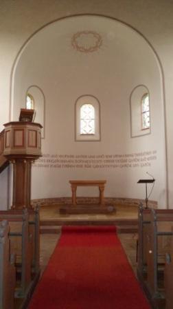 Sanierung Altarraum