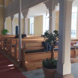 Kirche Dalherda Osterputz