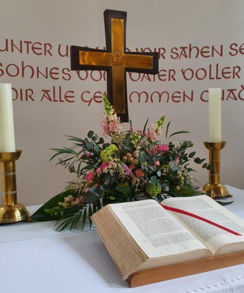 Altar Hettenhausen Taufe