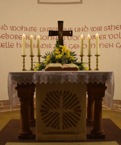Altar Hettenhausen Ostern