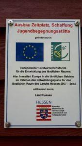 Förderung EU und Land Hessen