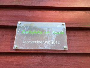 Zeltplatz Dalherda Modernisierung 2012
