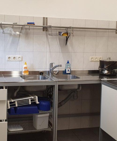 Zeltplatz Dalherda Küche